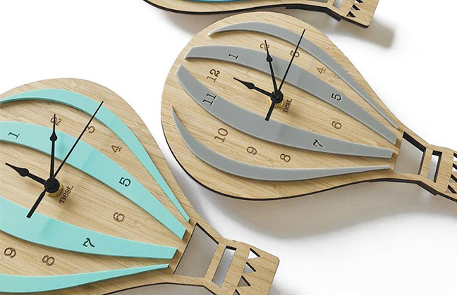 MDF Clocks Laser Cutting