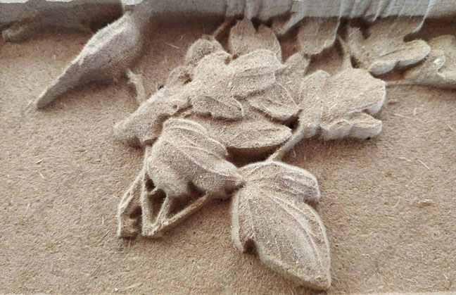 CNC Router MDF carving