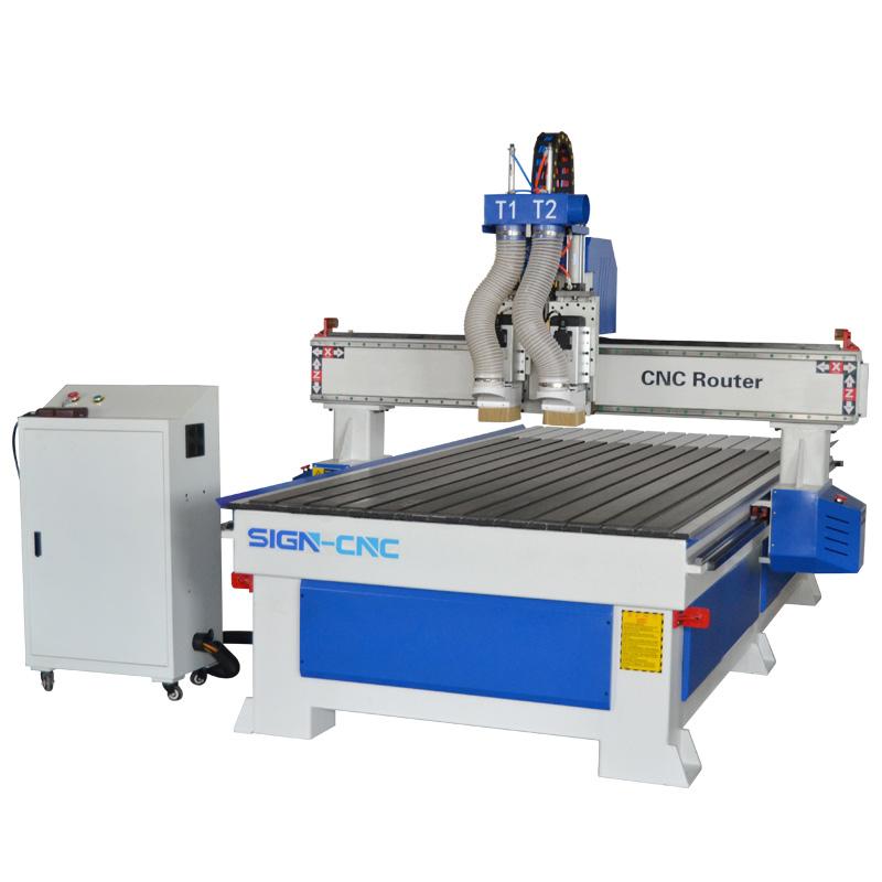 ACE-1325双工序木工雕刻机 数控雕刻机 木工切割机