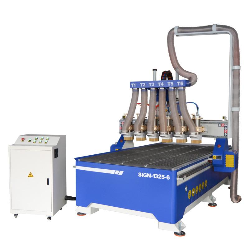 ACE-1325 一拖六木工数控雕刻机 木工雕刻机