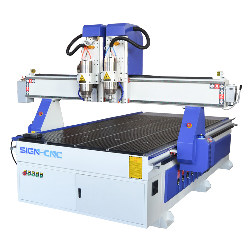 ACE-1325 数控雕刻机 独立双头 木工雕刻机