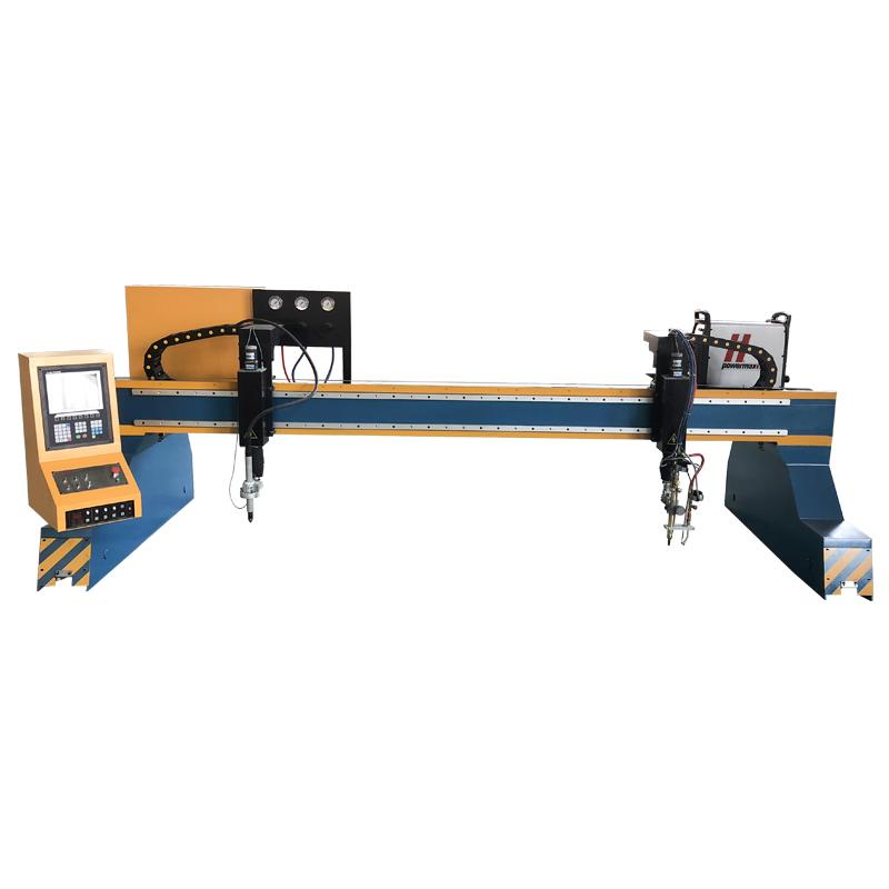 龙门式一等一火等离子板材切割机独立升降体2560