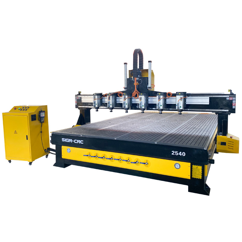 ACE-2540一拖六数控木工雕刻机 木工机械