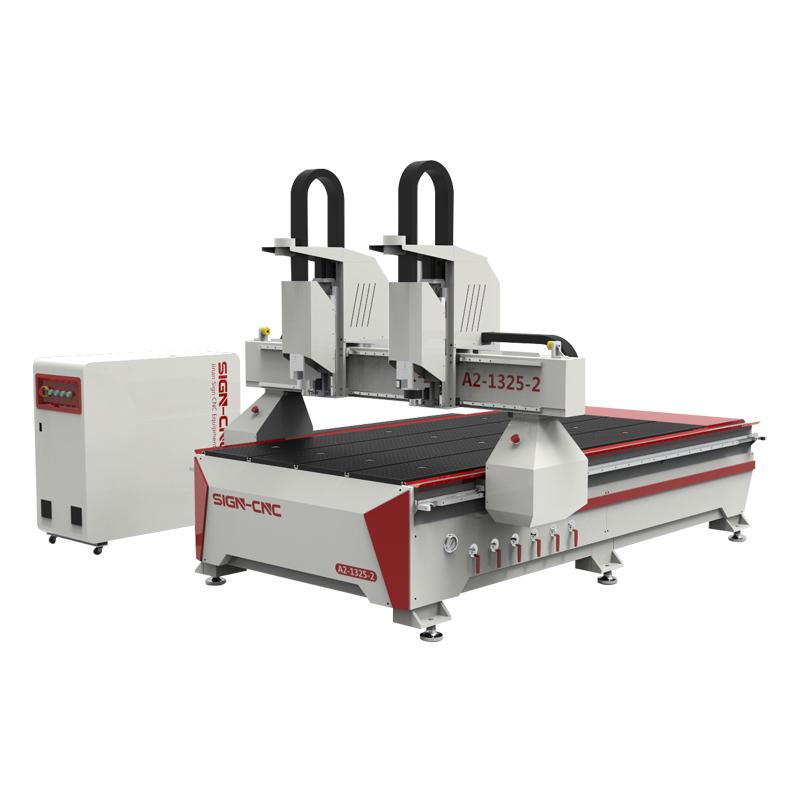 ACE-1325独立双头数控雕刻机 数控木工雕刻机