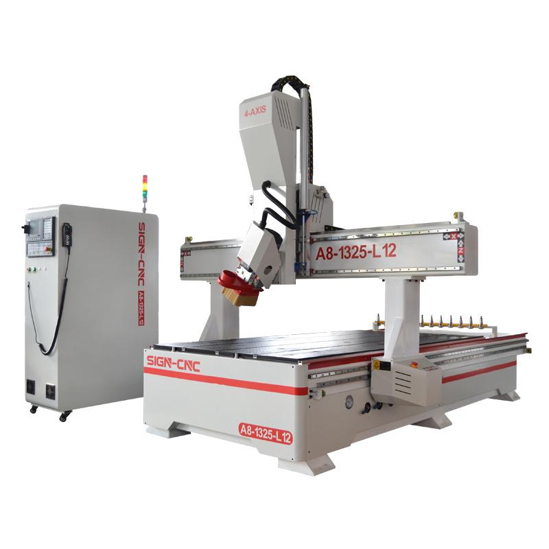 ACE-1325四轴数控雕刻机 数控加工中心 木工雕刻机