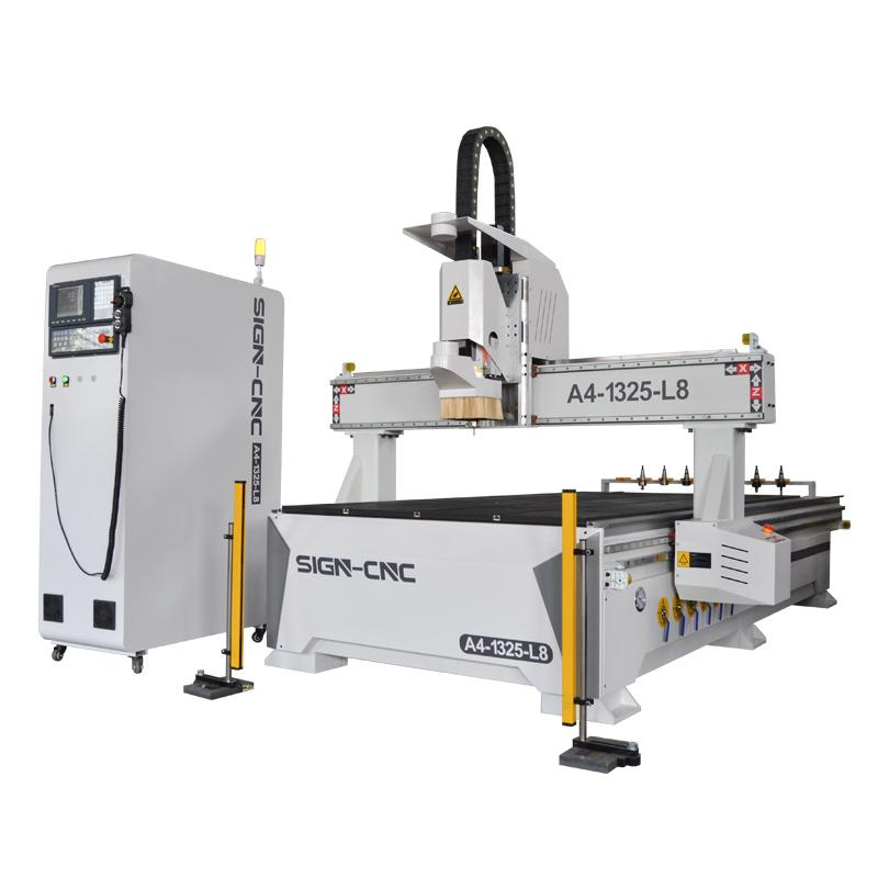 A4-1325-L8 数控加工中心 木工雕刻机 数控雕刻机
