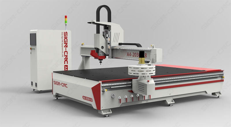 ACE-2030 Carousel ATC CNC Router Syntec control system
