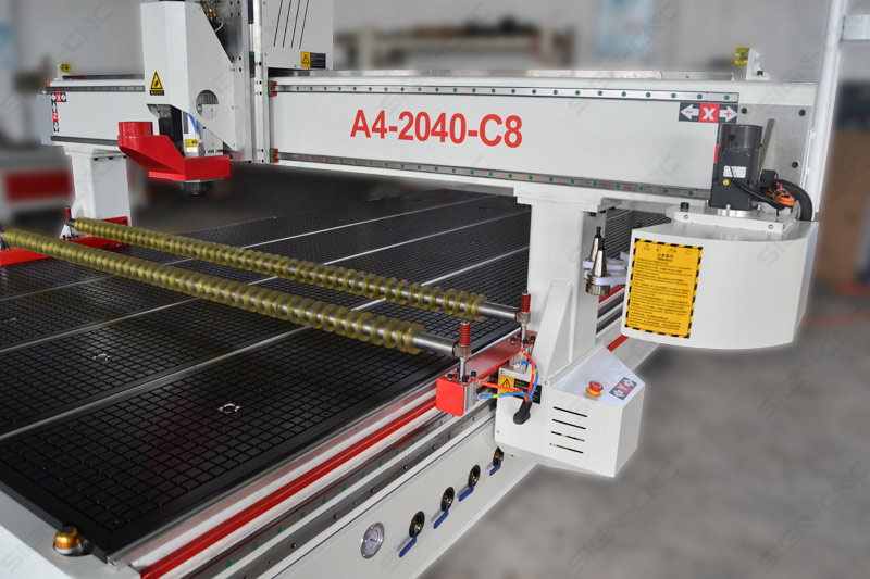 ACE-2040 Carousel ATC CNC Router with Pinch Roller
