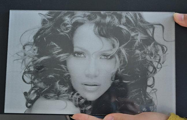 Acrylic Photo Laser Engraving