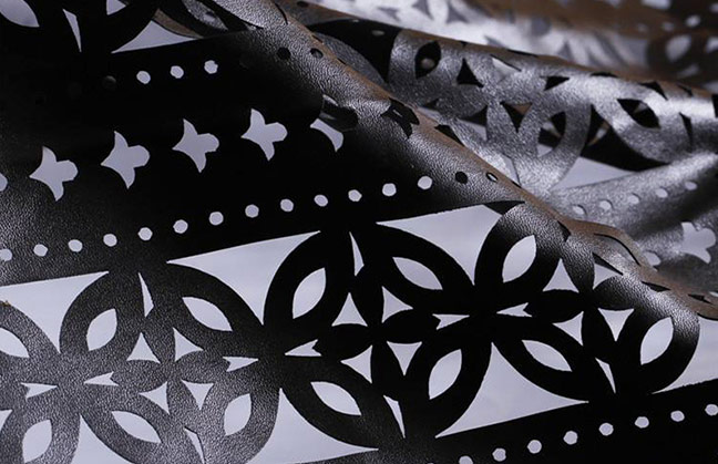 Laser Leather Cutting
