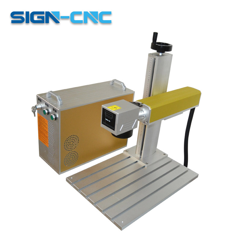 Split Fiber Laser Marking Machine