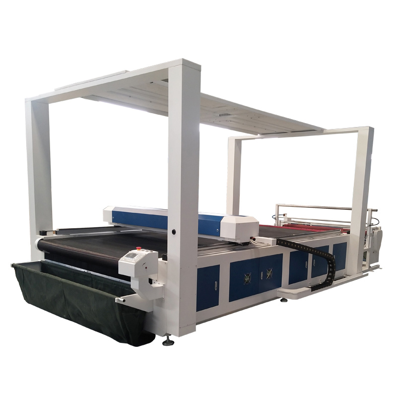Vision Identity CCD Camera CO2 Laser Cutting Machine for Garment Textile Fabric
