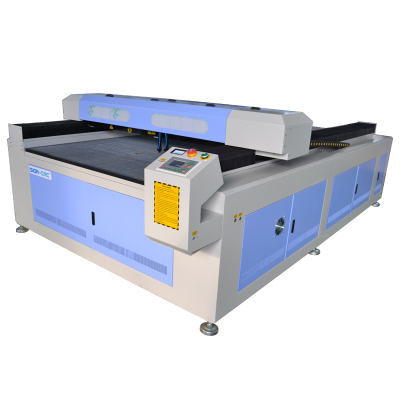 CO2 laser big size double heads machine high efficiency