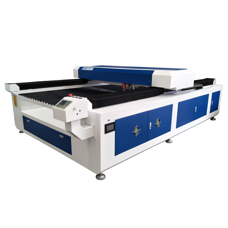 CO2 laser hybrid mixed cutting machine for metal and non-metal
