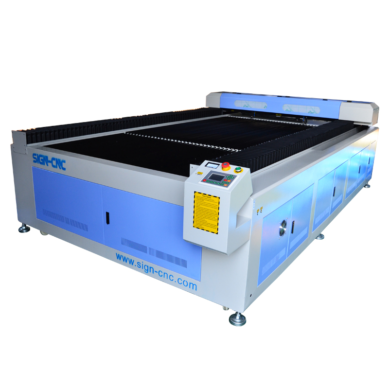 CO2 laser double heads machine