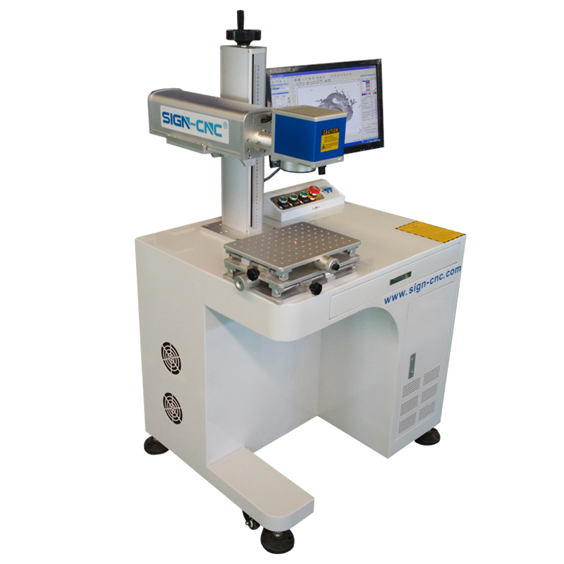 Desktop Fiber Laser Marking Machine 20W