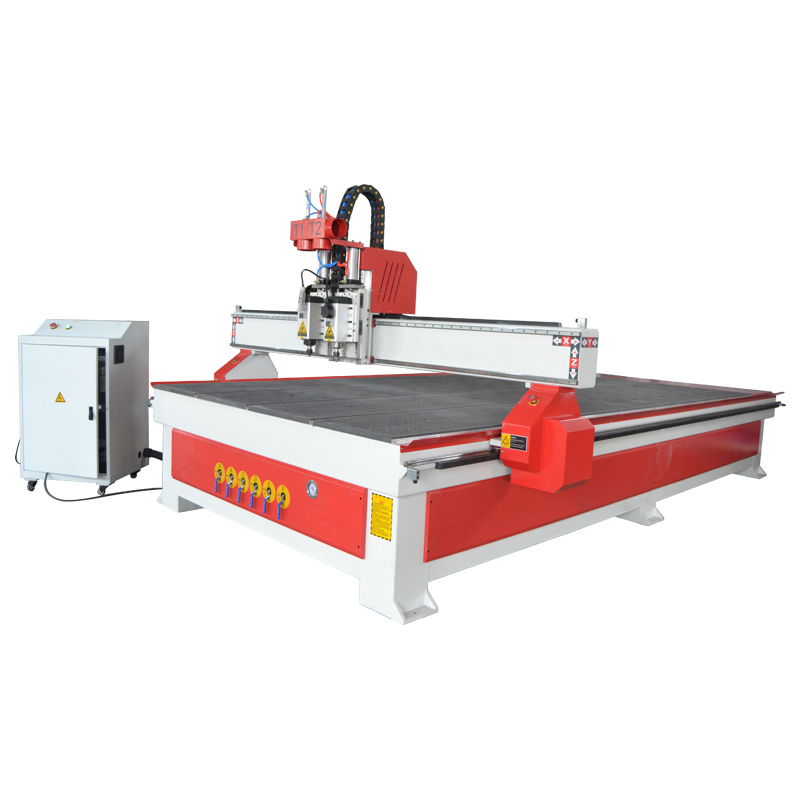 ACE-2030 Pneumatic changer two heads wood router