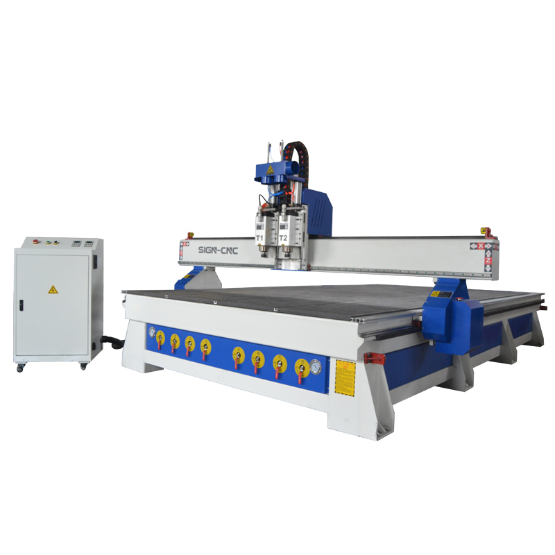 ACE-2141 Pneumatic ATC cnc router engraving machine