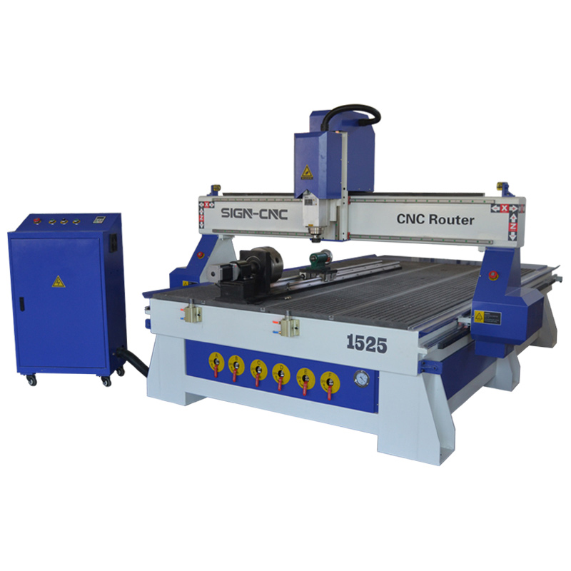 ACE 1525 4 axis Wood CNC Router Machine