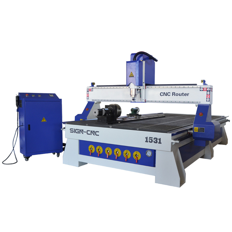 ACE-1531 4 Axis Wood CNC Router Machine Engraving