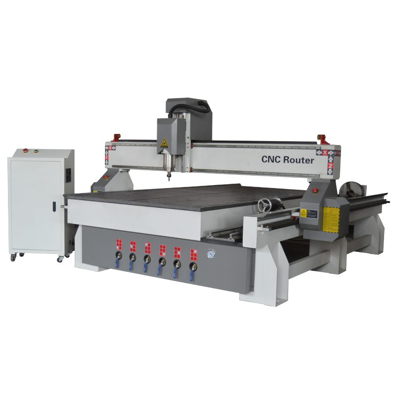 ACE-1325 4axis cnc router with big rotary