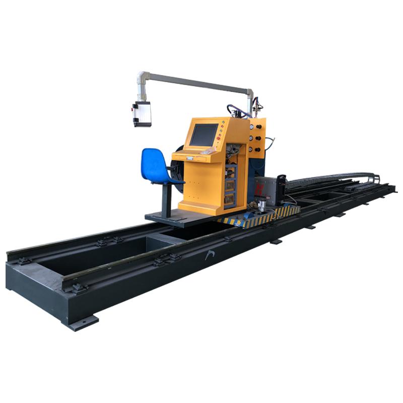 8 Axis CNC Pipe Profile Cutting Machine