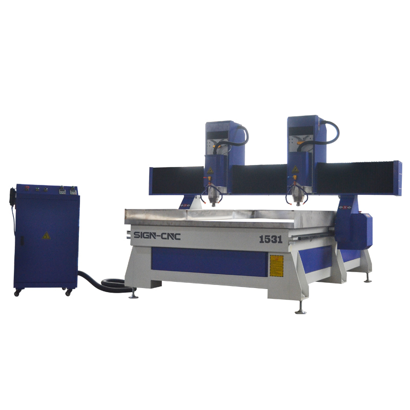 ACE-1525 Double Heads Machine Table With Water Tank