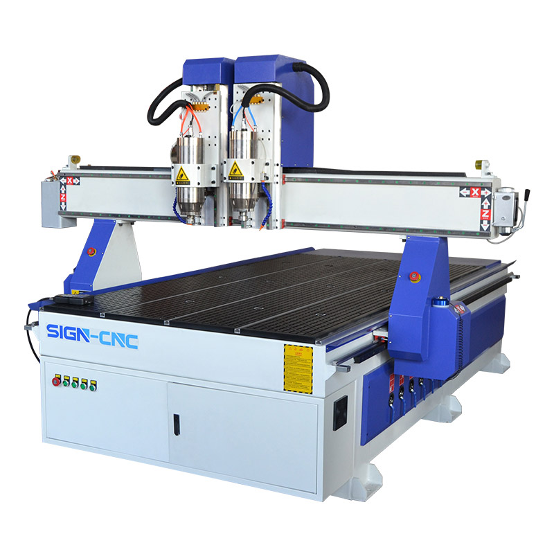 ACE-1325 Two Heads Wood and Metal cnc router
