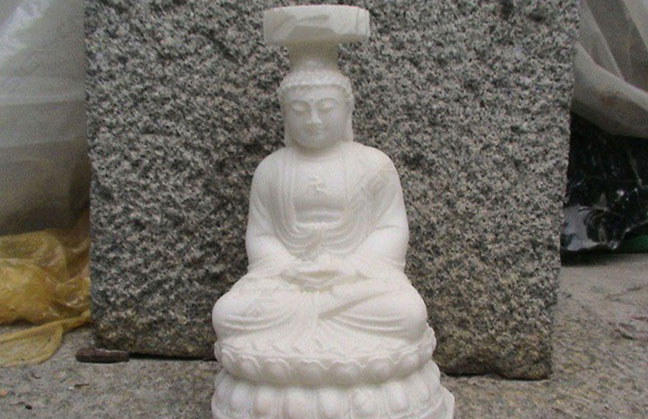 stone round carved