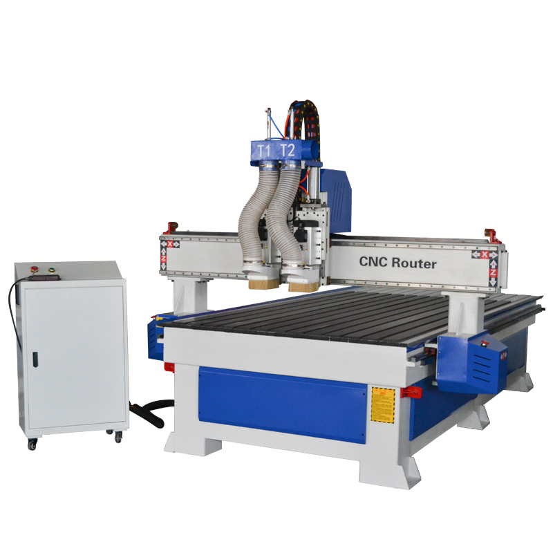 ATC CNC router pneumatic multi heads/ spindles