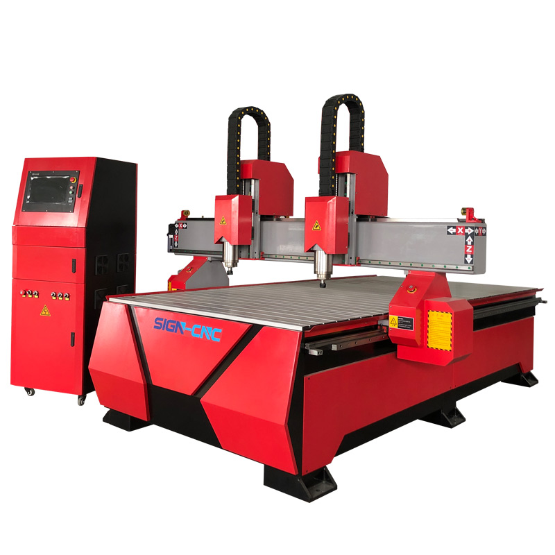 Double head CNC router machine 1325