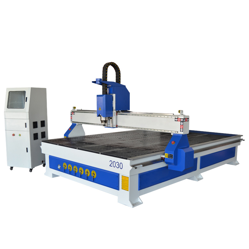 2030 CNC router woodworking machine with vacuum table