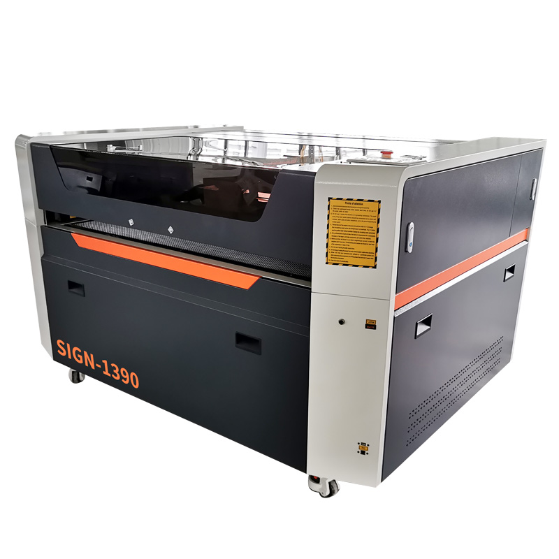 New CO2 laser engraving and cutting machine