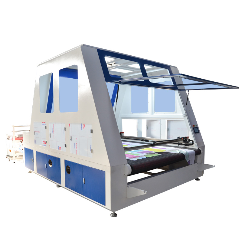 CO2 laser fabric cutting machine with CCD