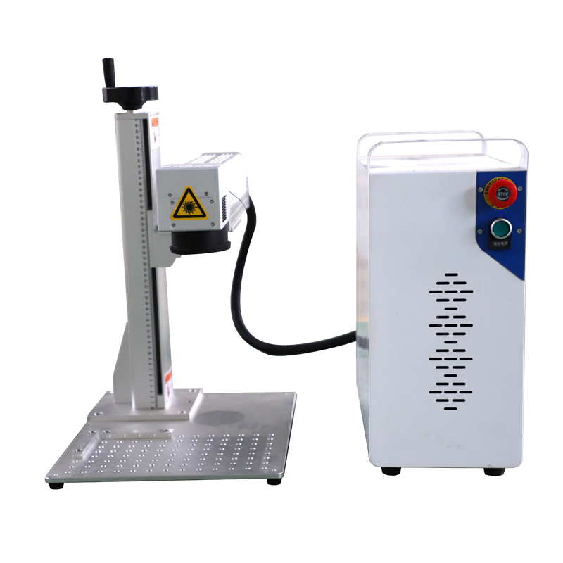 Split Fiber Laser Marking Machine 30W 50W NEW