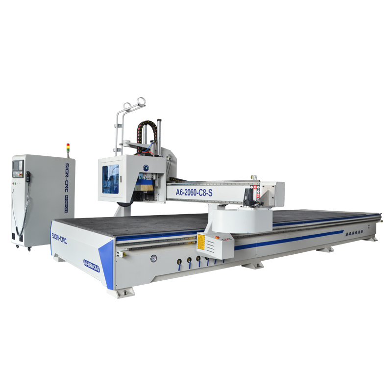 ACE-2060 ATC CNC router with saw