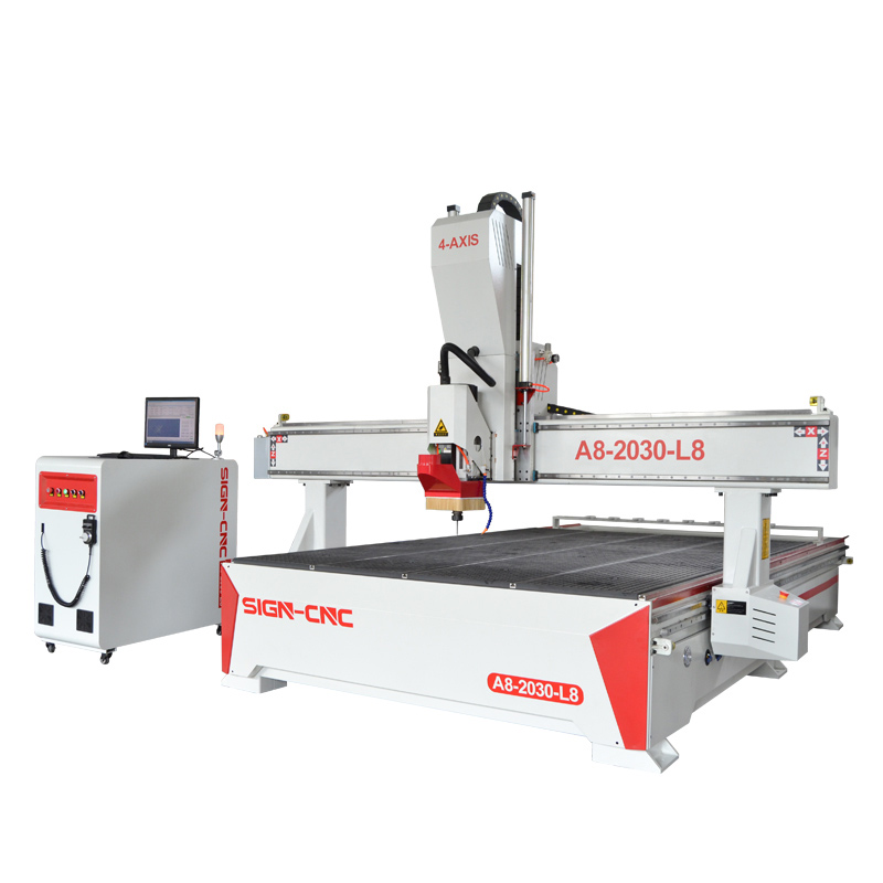 ACE-2030 CNC Router Machine 4Axis Swing head