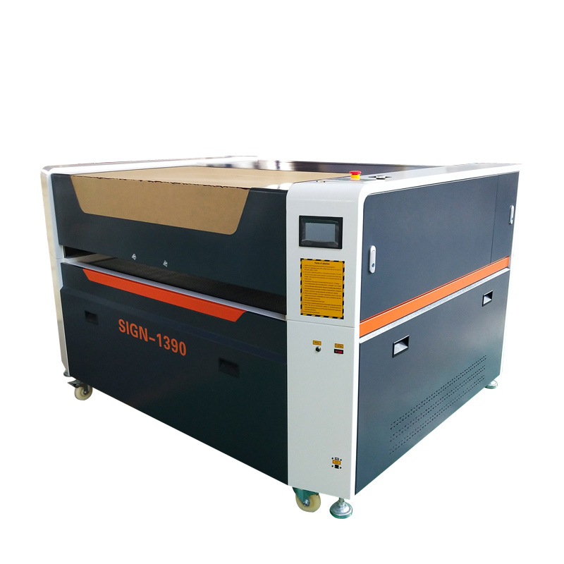 Co2 1390 laser mixed cutting machine for metal