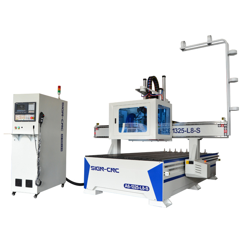 ACE-1325 ATC CNC router with saw