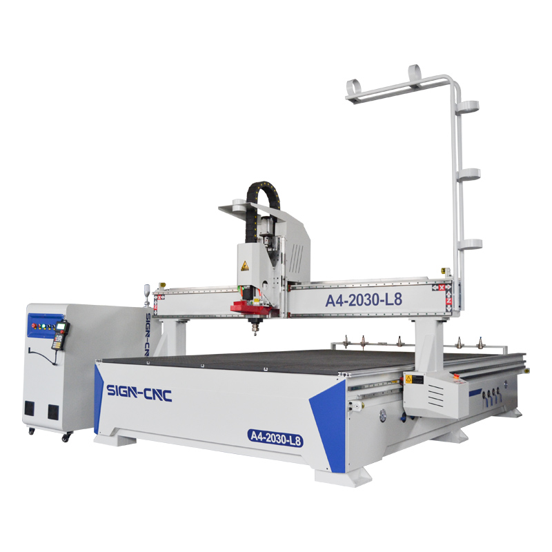 ACE-2030 Linear ATC CNC Router NK105 G3 control system