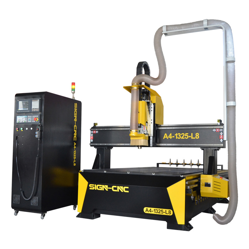 ACE-1325 Linear ATC CNC Router Syntec control system