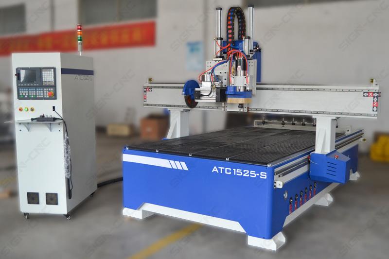 ACE-1525 ATC фрезерно-гравировальный станок с пилой