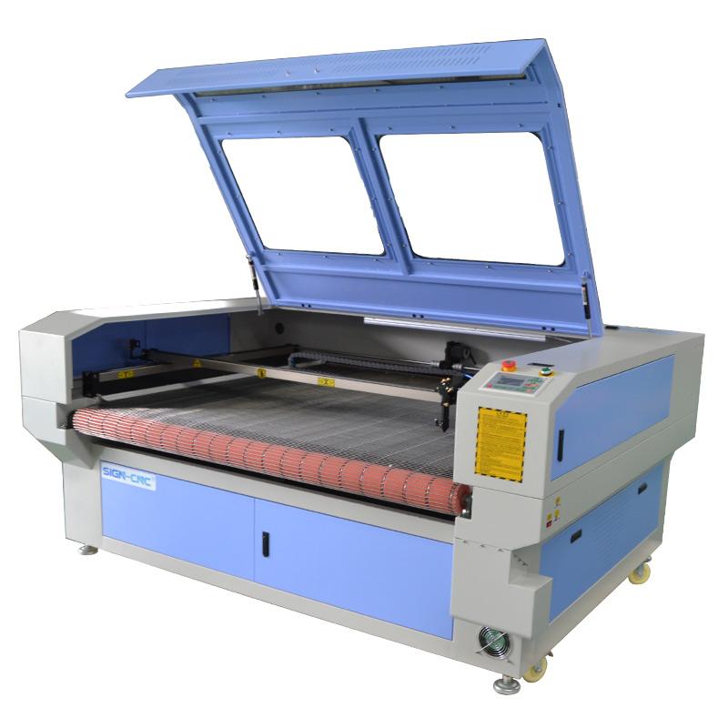 ACE 1610 CO2 лазерный станок для автоматической подачи рулонного материала