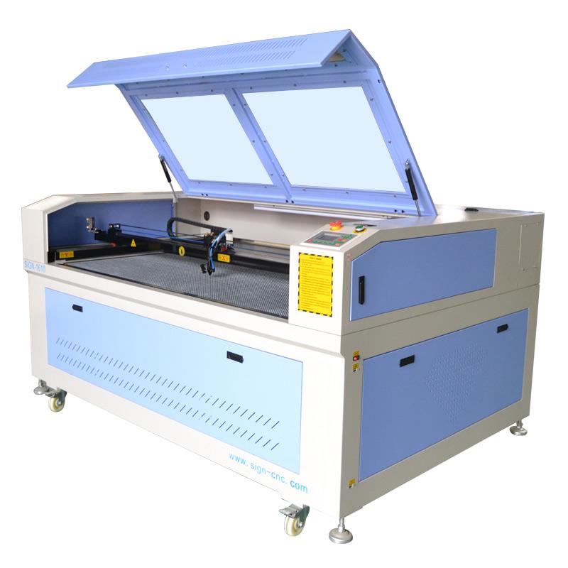 1610 CO2 лазерный станок для резки и гравировки с сотовыми столом