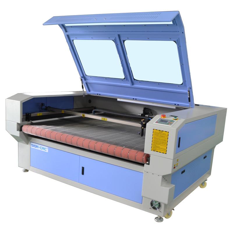 CO2 лазерный станок с чпу для ткани 1610