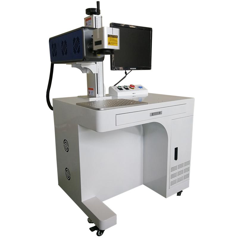 CO2 Лазерный маркер с металической трубкой со станиной