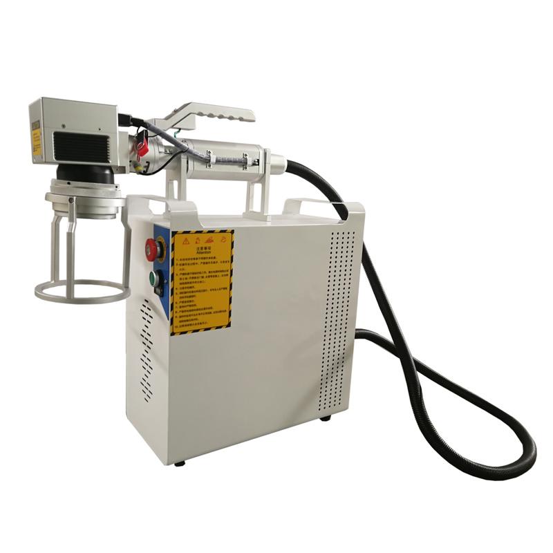 Ручной (портативный, переносный) лазерный маркиратор металла