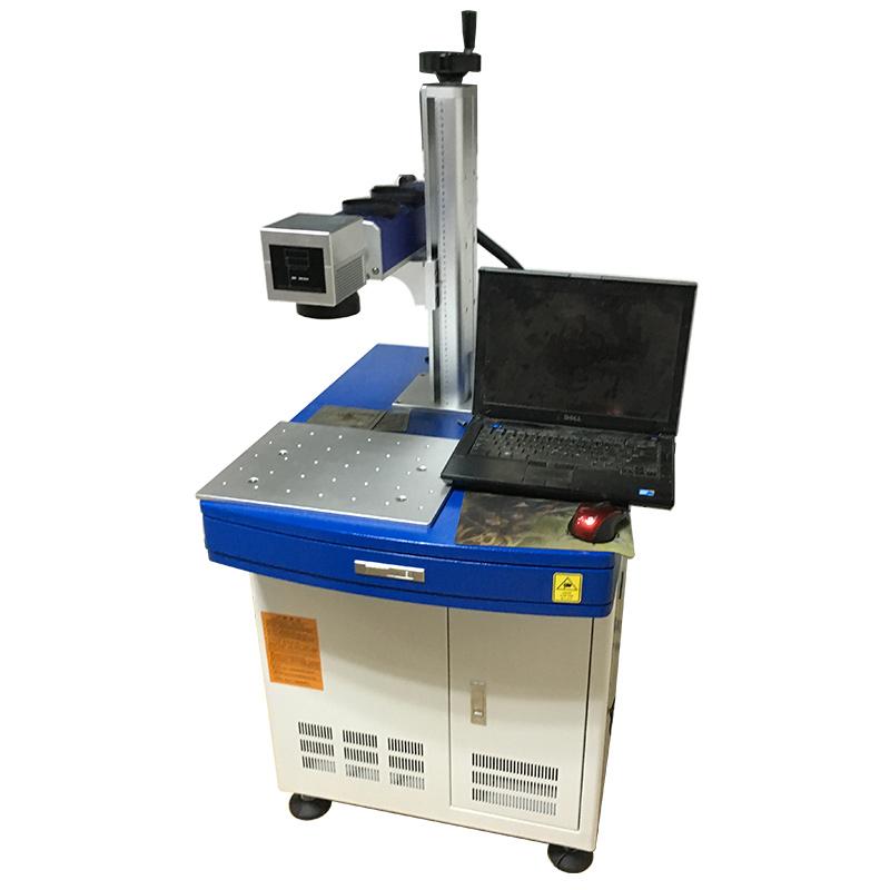 Цветный лазерный маркер MOPA 20W