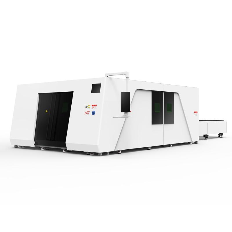 Оптоволоконный лазерный станок по металлу закрытого типа